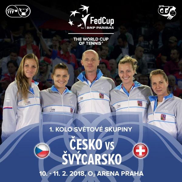 Fed Cup Česko - Švýcarsko