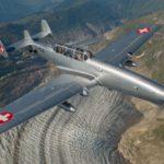 Neobvyklý letoun EFW C-3605 míří na Aviatickou pouť do Pardubic