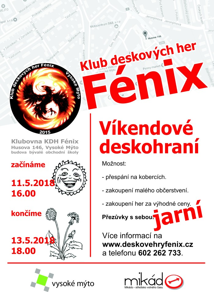 Deskohraní Fénix