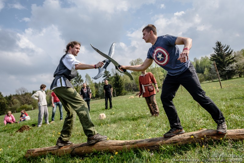 Barbarské hry, foto:FotoZajda.cz