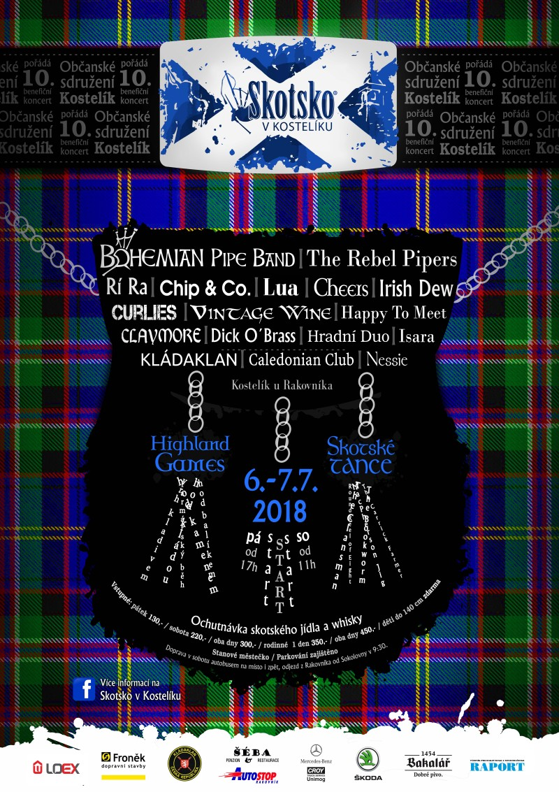 Skotsko v Kostelíku plakát