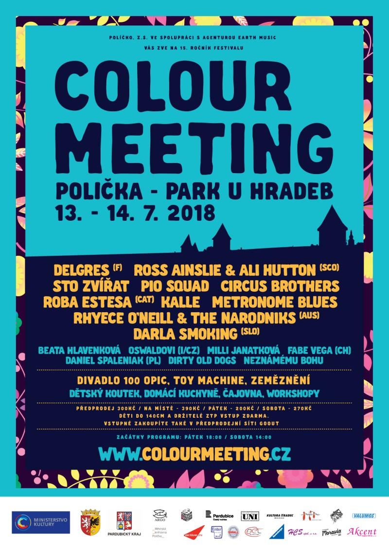Colour Meeting plakát