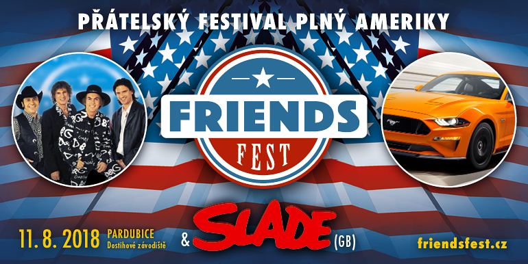 Friends Fest plakát 2018