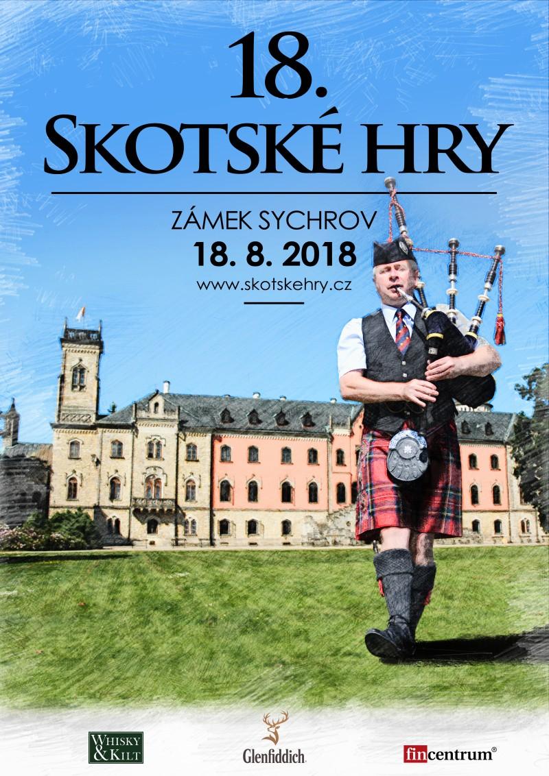 Skotské hry 2018