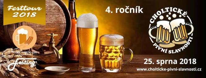 Choltické pivní slavnosti 2018