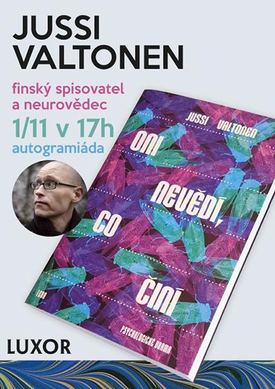 Autogramiáda Jussi Valtonen