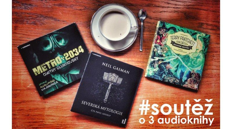 OneHotBook - 3 audioknihy soutěž