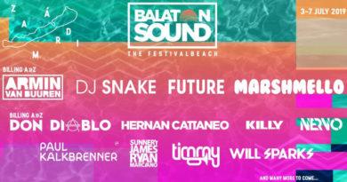 Balaton Sound rozšiřuje VIP zóny a přidává jména do programu