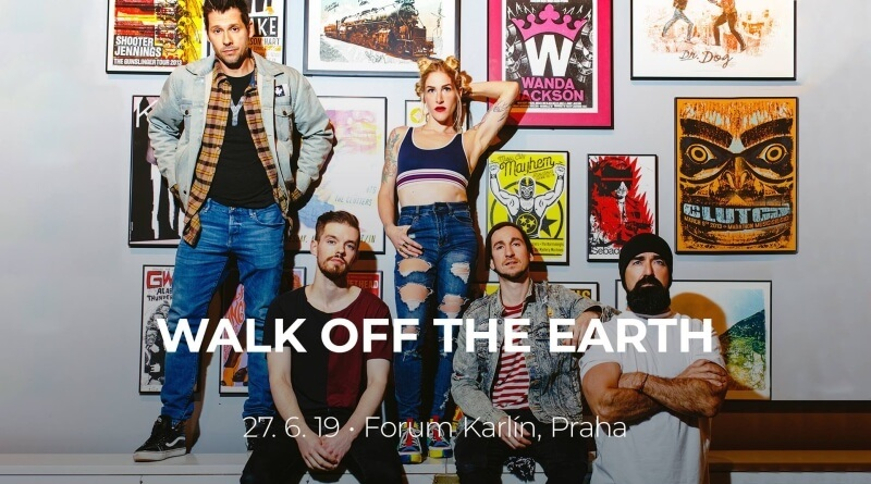 Z obýváku do Fora Karlín. Kanadští Walk Off The Earth se vrací do Prahy