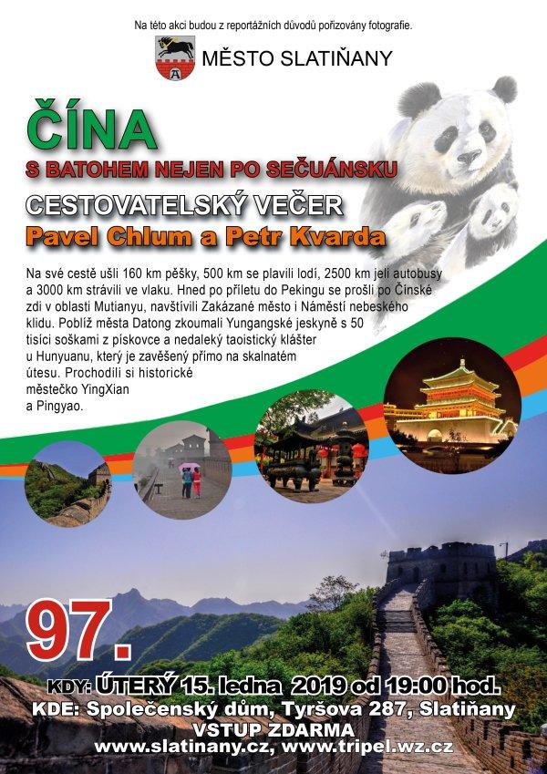 Čína - plakát