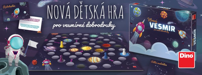 Hravý vesmír (Dino Toys)
