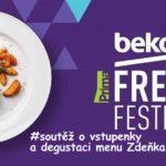 SOUTĚŽ o vstupenky na BEKO Fresh Festival a degustaci menu Zdeňka Pohlreicha