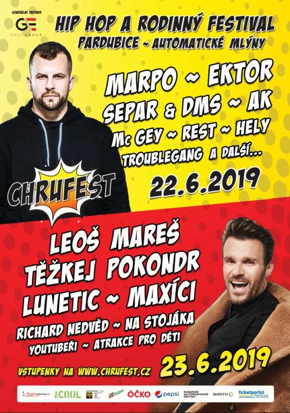 ChruFest 2019 plakát