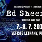 Ed Sheeran svůj pražský koncert vyprodal během dne a přidává další