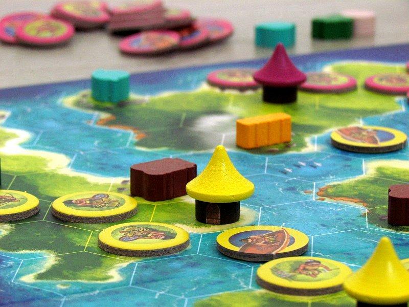 Modrá laguna - rodinná hra pro všechny dobrodruhy