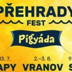 Festival Přehrady fest nabídne kromě hudby i množství vodních radovánek a nadupaný program pro děti s prasátkem Pigy