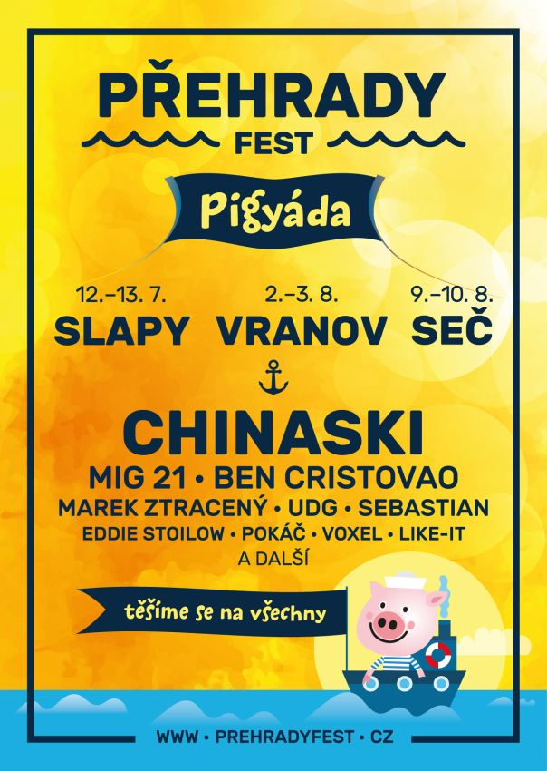 Přehrady Fest 2019