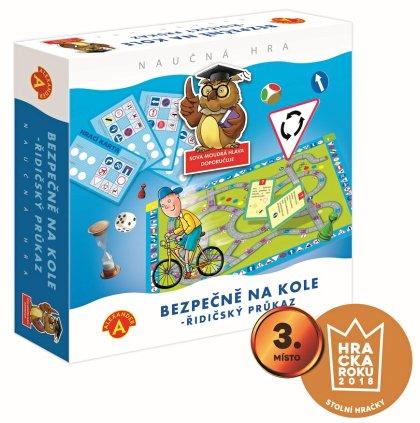 Bezpečně na kole - ŘIDIČSKÝ PRŮKAZ - krabice hry