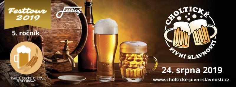 Choltické pivní slavnosti - plakát 2019