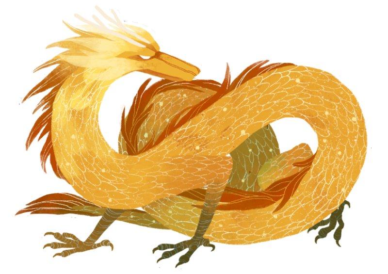 Dračí palác - drak