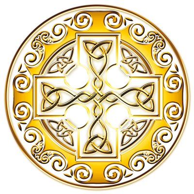 Keltská noc Plumlov logo kříž