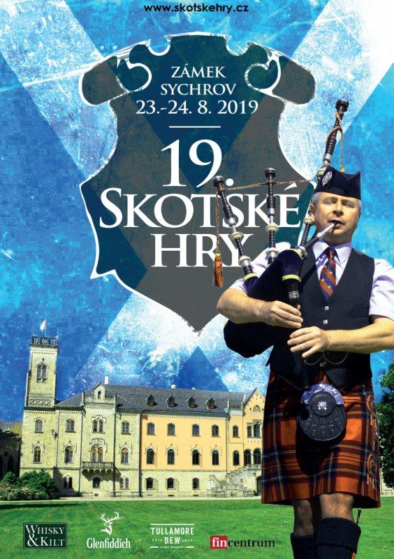Skotské hry 2019 plakát