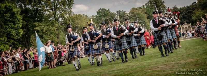 19. Skotské hry - dudáci