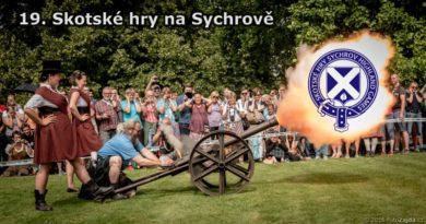 Skotské hry - výstřel