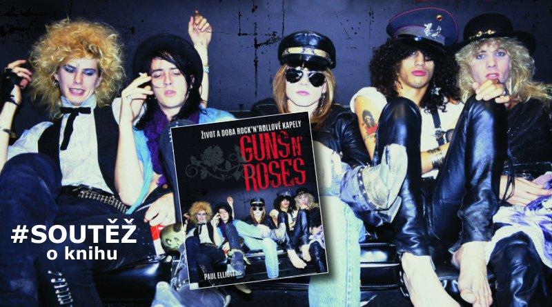 Guns N' Roses - soutěž o knihy