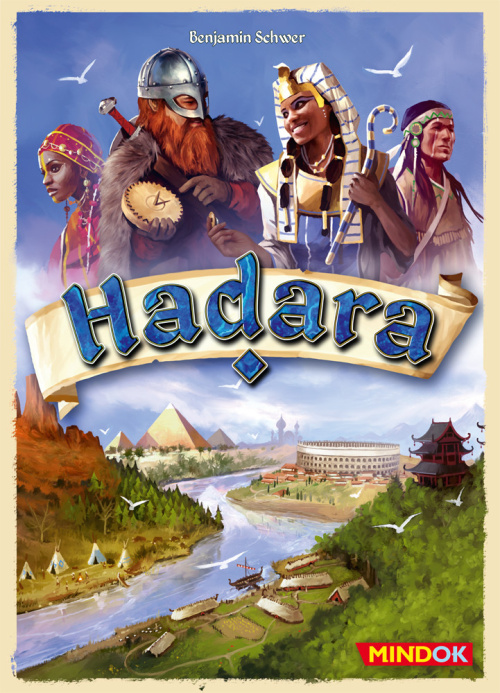 Hadara - krabice hry