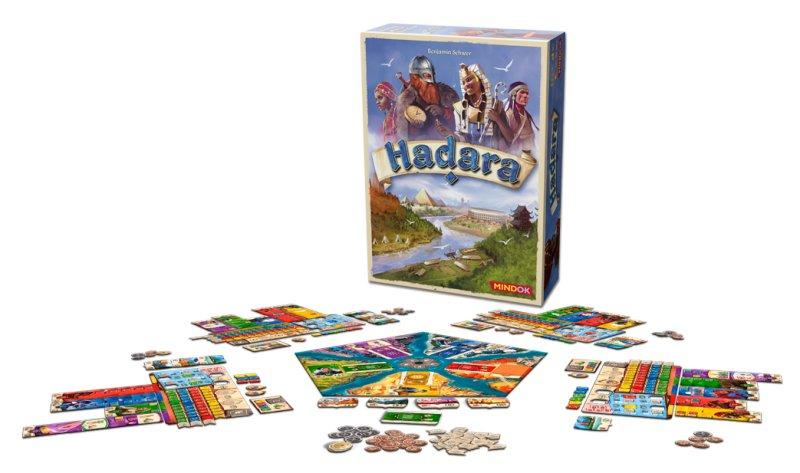 Hadara - rozložená desková hra