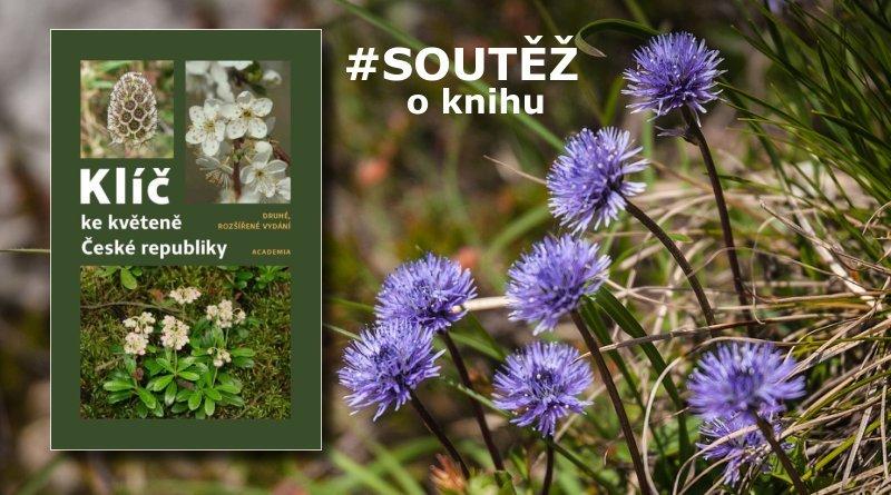 Klíč ke květeně ČR - soutěž o knihu