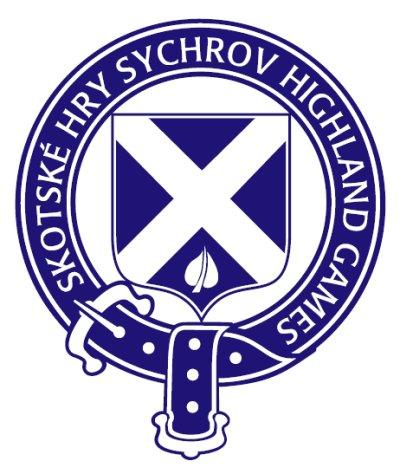 Skotské hry - logo