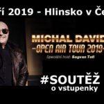 SOUTĚŽ o vstupenky na LÉTO S RYCHTÁŘEM – Michal DAVID