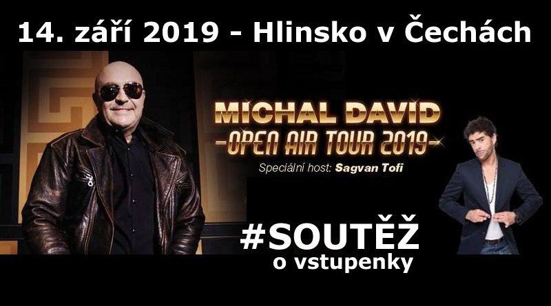 Michal David - soutěž o vstupenky