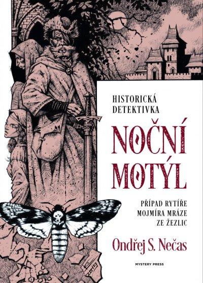 Noční motýl - obal knihy