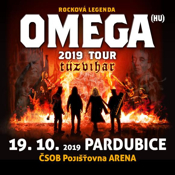 """OMEGA TOUR 2019 """"TŰZVIHAR"""" Pardubice"""