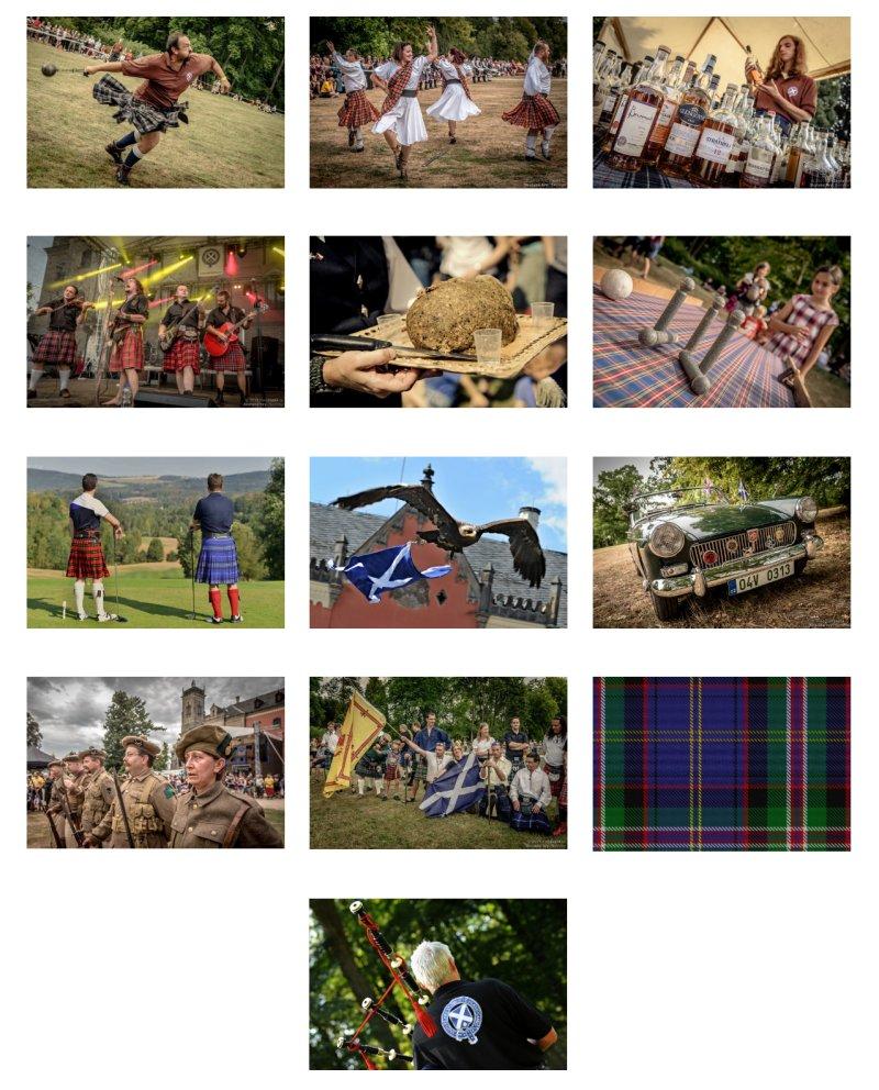 Program Skotských her