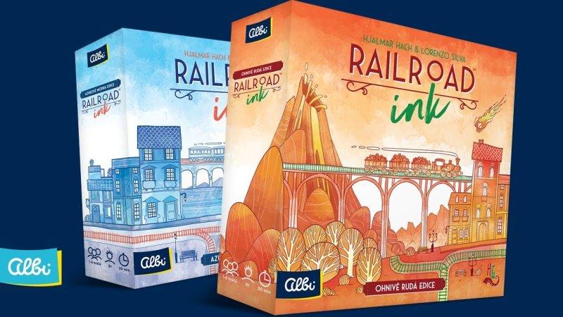 RAILROAD INK - soutěž o hry