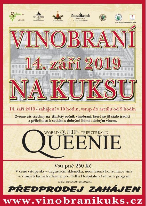 Vinobraní na Kuksu plakát akce