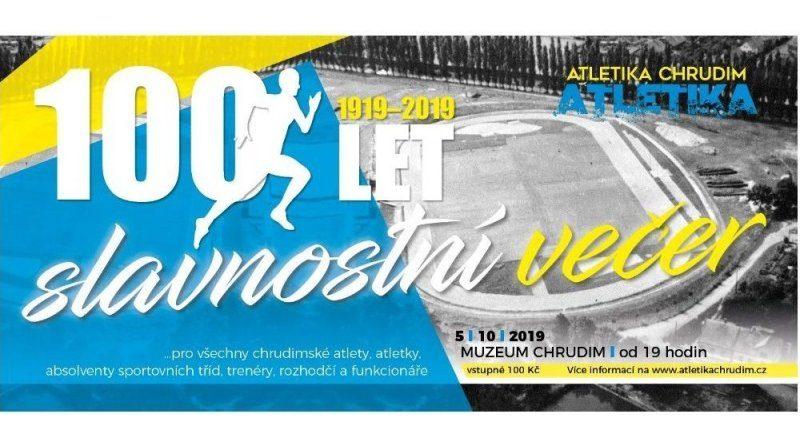 100 let atletiky Chrudim