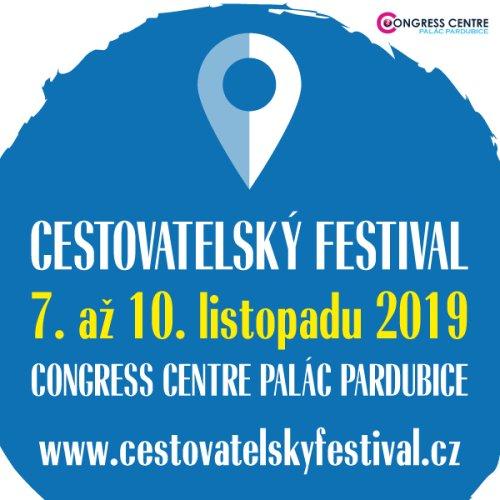 Cestovatelský festival Pardubice 2019