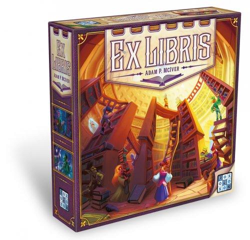 Ex libris - krabice od hry