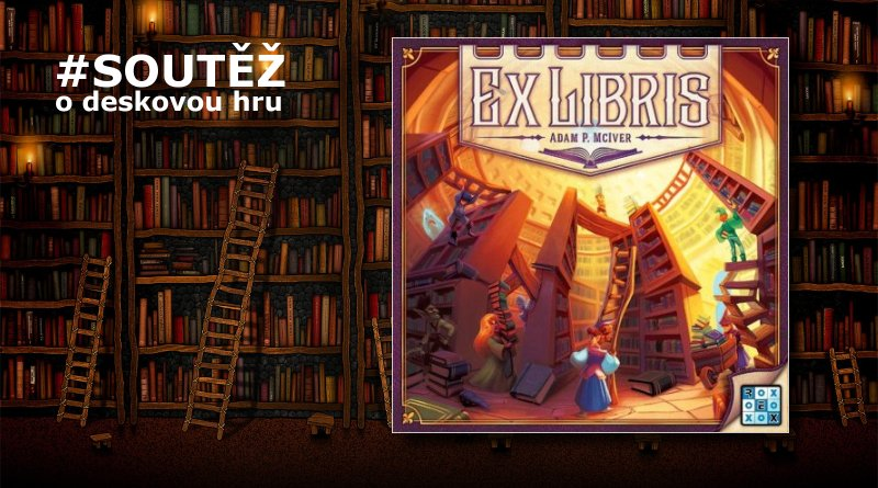 Ex libris - soutěž o hru REXhry