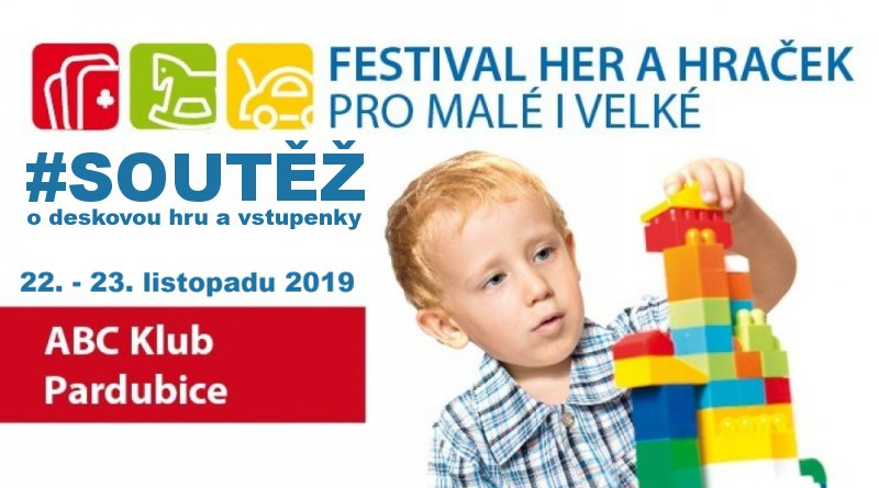 Festival her a hraček Pardubice 2019 soutěž