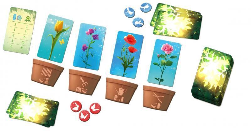 Flora - rozehraná desková hra