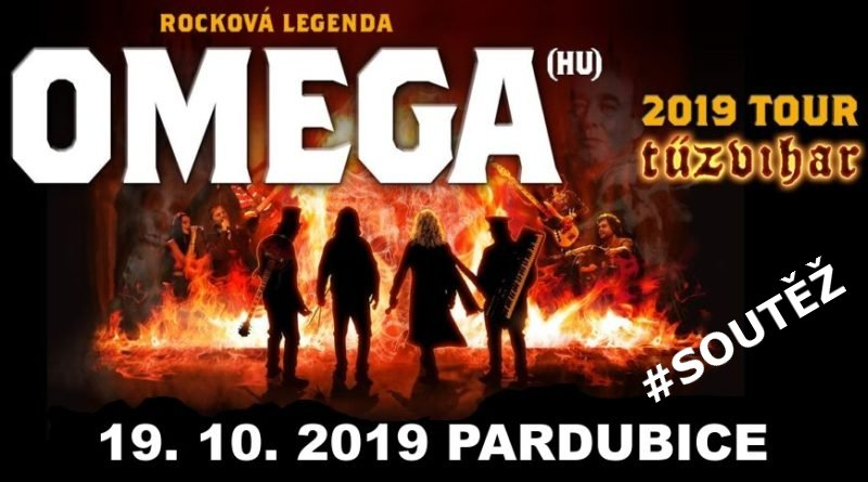 Omega Pardubice soutěž o vstupenky