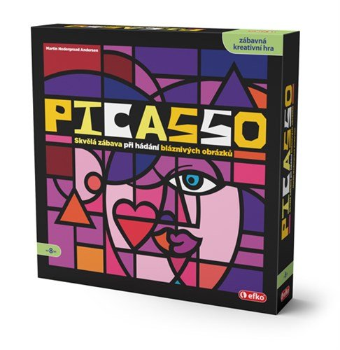 Picasso - krabice od hry
