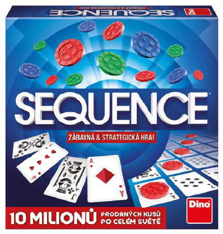 Sequence - krabice od hry
