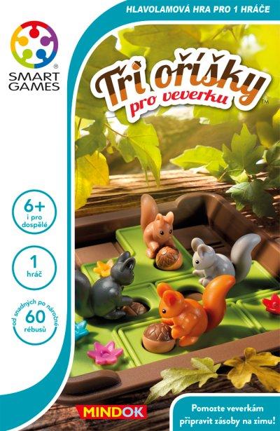 Tři oříšky pro veverku - krabice od hry